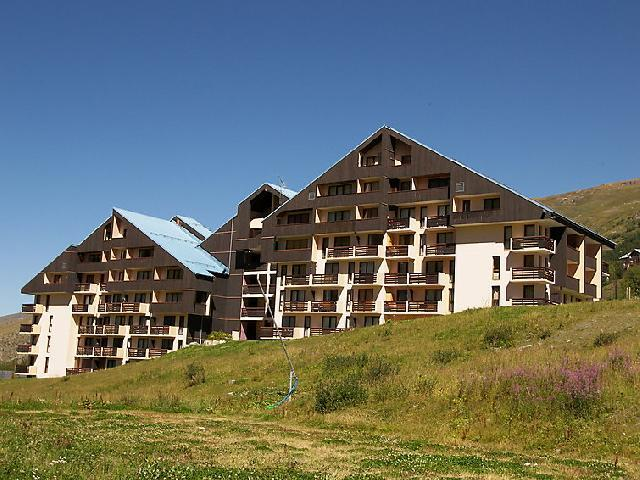 Rent in ski resort 1 room apartment 3 people (1) - Le Sarvan - Les Menuires - Summer outside