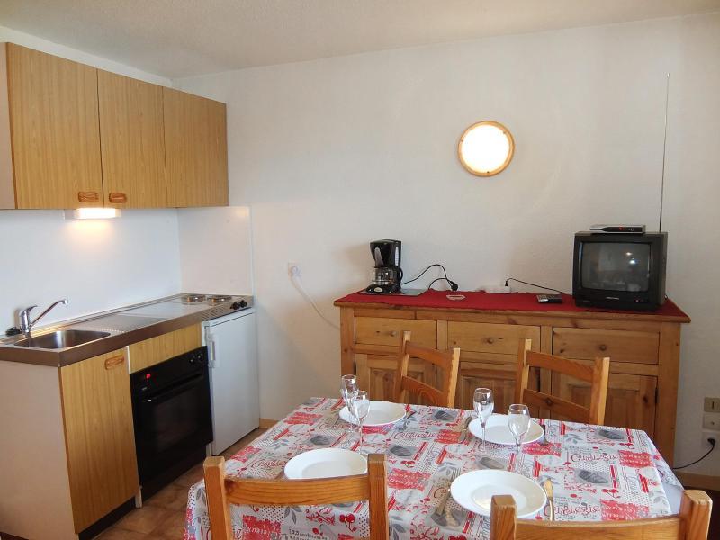 Vakantie in de bergen Appartement 1 kamers 4 personen (10) - Le Sarvan - Les Menuires