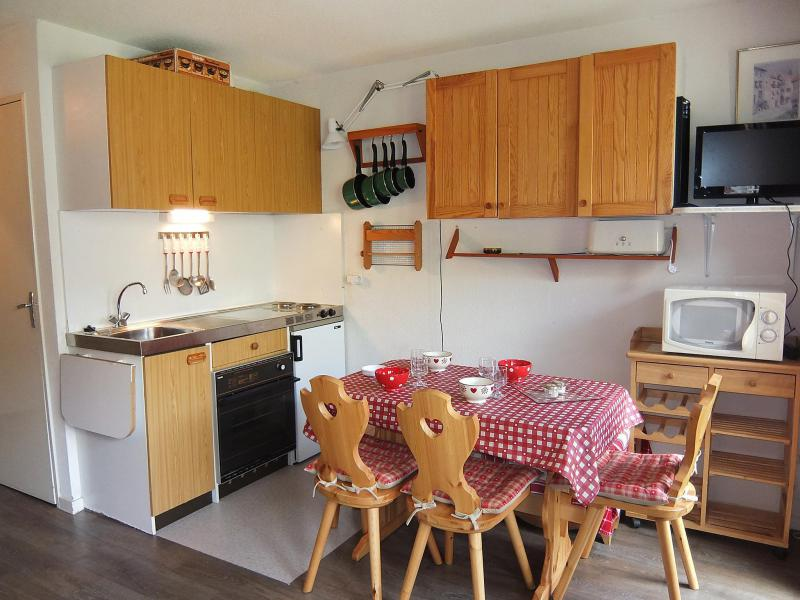 Holiday in mountain resort 1 room apartment 4 people (5) - Le Sarvan - Les Menuires - Summer outside