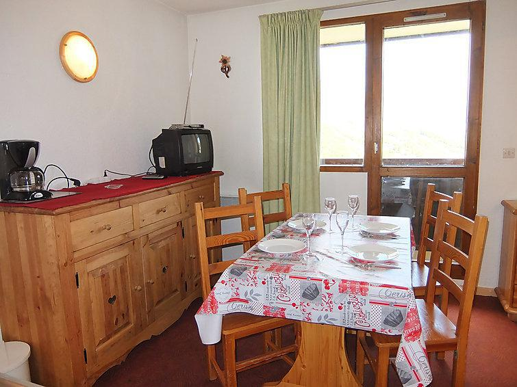 Holiday in mountain resort 1 room apartment 4 people (10) - Le Sarvan - Les Menuires - Summer outside