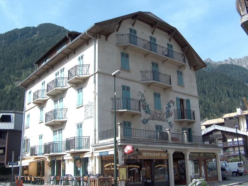 Holiday in mountain resort 2 room apartment 4 people (1) - Le Savoisien - Chamonix - Summer outside