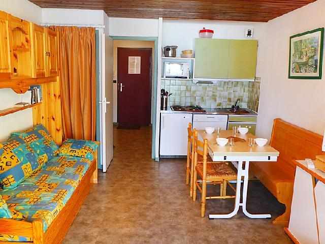 Holiday in mountain resort 1 room apartment 4 people (1) - Le Schuss - Val Thorens - Accommodation
