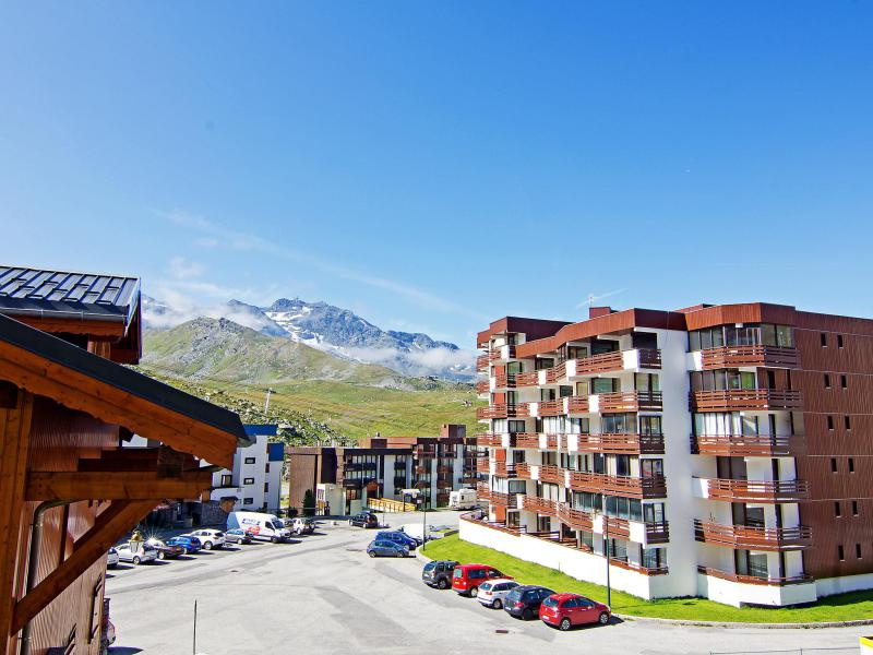 Holiday in mountain resort 1 room apartment 4 people (1) - Le Schuss - Val Thorens - Summer outside
