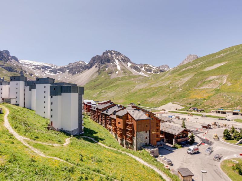 Wakacje w górach Apartament 2 pokojowy 6 osób (5) - Le Schuss - Tignes - Na zewnątrz latem