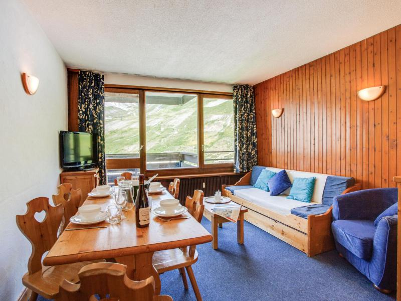 Wakacje w górach Apartament 2 pokojowy 6 osób (5) - Le Schuss - Tignes - Pokój gościnny