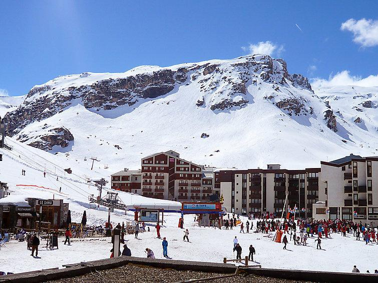 Holiday in mountain resort 1 room apartment 4 people (9) - Le Sefcotel - Tignes - Accommodation