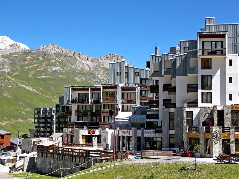 Holiday in mountain resort Le Sefcotel - Tignes - Summer outside