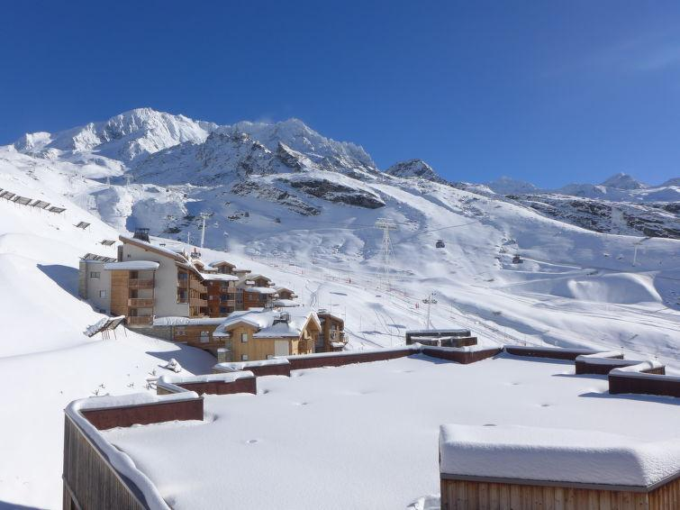 Holiday in mountain resort 1 room apartment 2 people (5) - Le Sérac - Val Thorens - Accommodation