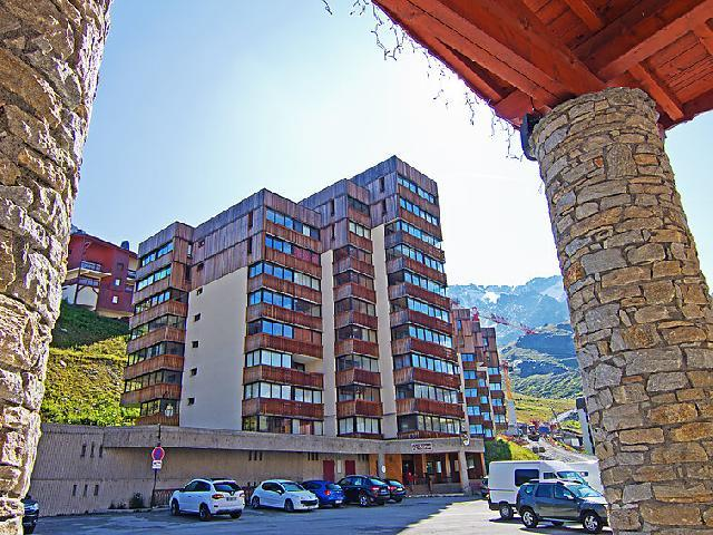 Holiday in mountain resort 1 room apartment 2 people (3) - Le Sérac - Val Thorens - Summer outside