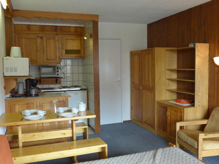 Holiday in mountain resort 1 room apartment 4 people (3) - Le Slalom - Tignes - Accommodation