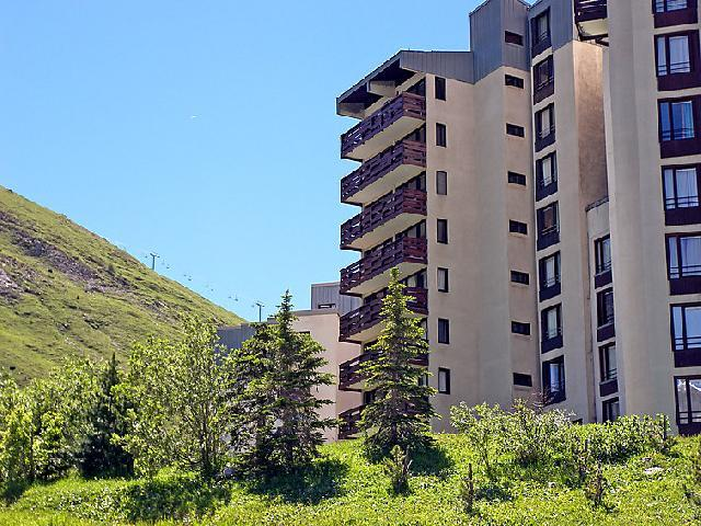 Holiday in mountain resort 1 room apartment 5 people (5) - Le Slalom - Tignes - Summer outside