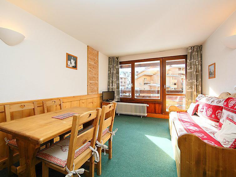 Holiday in mountain resort 1 room apartment 4 people (1) - Le Slalom - Tignes - Summer outside