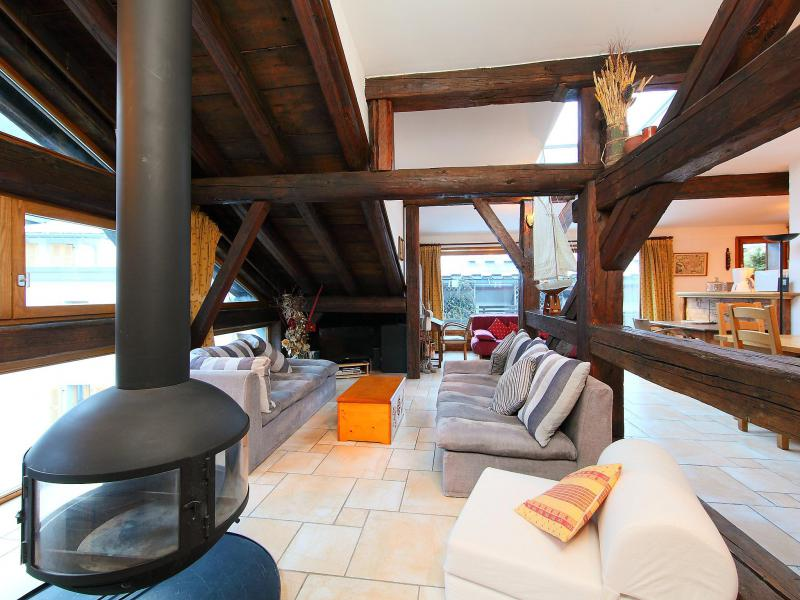 Holiday in mountain resort 3 room apartment 5 people (1) - Le Sommet du Bourg - Chamonix - Accommodation
