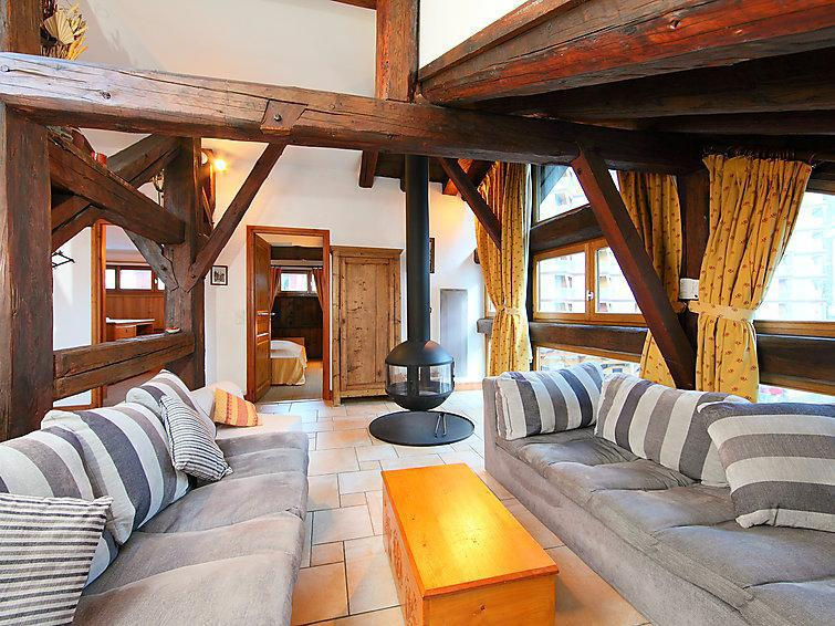 Holiday in mountain resort 3 room apartment 5 people (1) - Le Sommet du Bourg - Chamonix - Summer outside