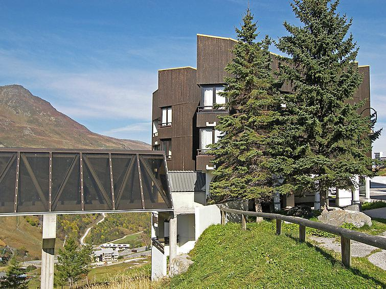 Holiday in mountain resort 2 room apartment 4 people (1) - Le Sorbier - Les Menuires - Summer outside