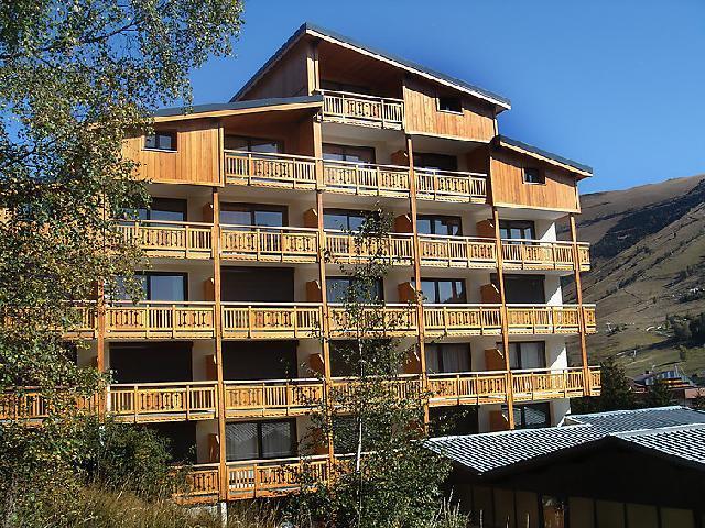 Vakantie in de bergen Appartement 1 kamers 4 personen (4) - Le Super Venosc - Les 2 Alpes - Buiten zomer
