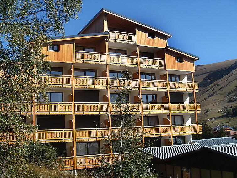 Holiday in mountain resort 1 room apartment 4 people (4) - Le Super Venosc - Les 2 Alpes - Summer outside