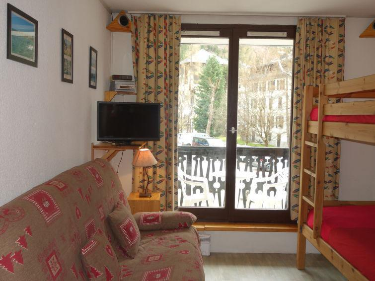Holiday in mountain resort 1 room apartment 3 people (5) - Le Triolet - Chamonix - Accommodation
