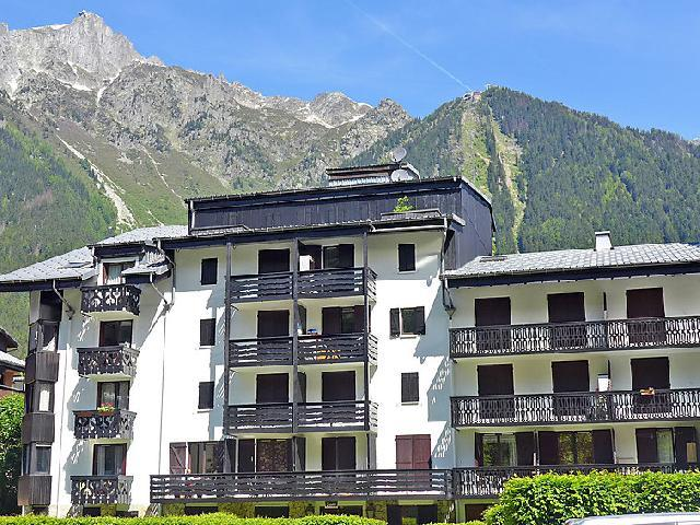 Holiday in mountain resort 1 room apartment 3 people (5) - Le Triolet - Chamonix - Summer outside