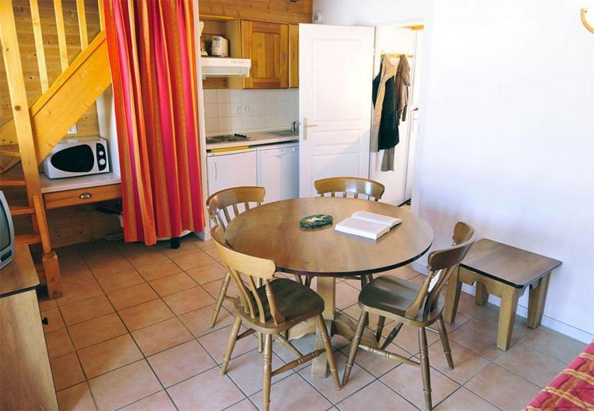 Urlaub in den Bergen Le Village Gaulois - Saint-François Longchamp - Essbereich
