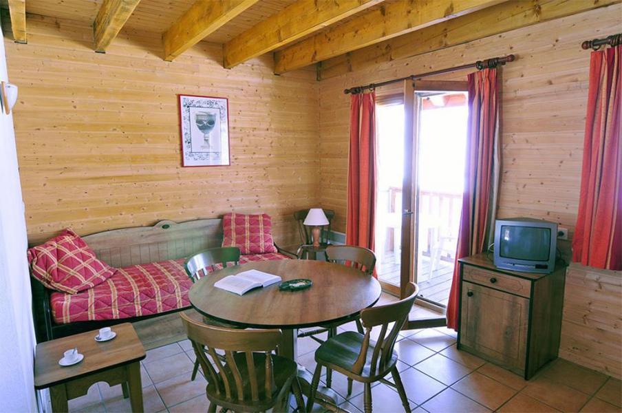 Urlaub in den Bergen Le Village Gaulois - Saint-François Longchamp - Wohnzimmer