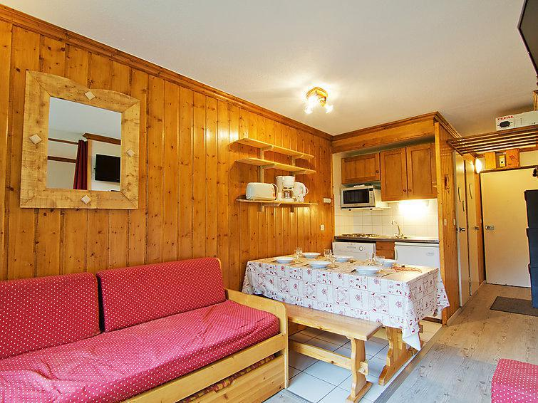 Holiday in mountain resort 2 room apartment 6 people (7) - Le Villaret - Les Menuires - Summer outside