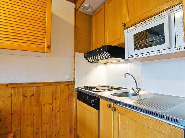 Vakantie in de bergen Appartement 2 kamers 6 personen (6) - Le Villaret - Les Menuires - Keuken
