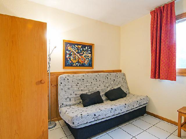 Vakantie in de bergen Appartement 2 kamers 6 personen (6) - Le Villaret - Les Menuires - Sofa