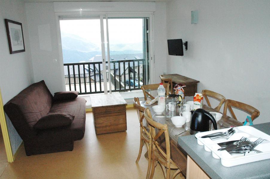 Urlaub in den Bergen Les Adrets de Peyragudes - Peyragudes - Wohnzimmer