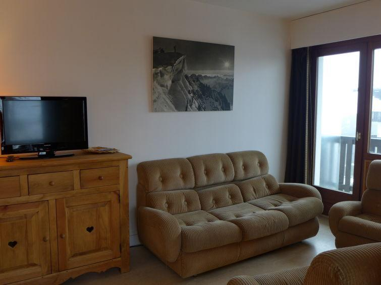 Holiday in mountain resort 2 room apartment 4 people (3) - Les Aiguilles du Brévent - Chamonix - Accommodation
