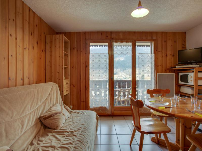 Holiday in mountain resort 2 room apartment 4 people (2) - Les Aiguilles du Midi - Saint Gervais - Living room