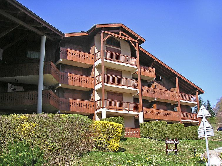 Holiday in mountain resort 3 room apartment 6 people (1) - Les Aiguilles du Midi - Saint Gervais - Summer outside