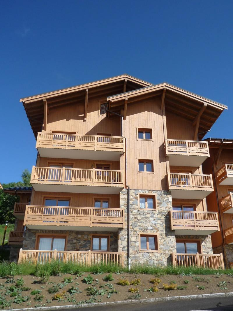 Vacaciones en montaña Les Alpages de Bisanne G - Les Saisies - Verano