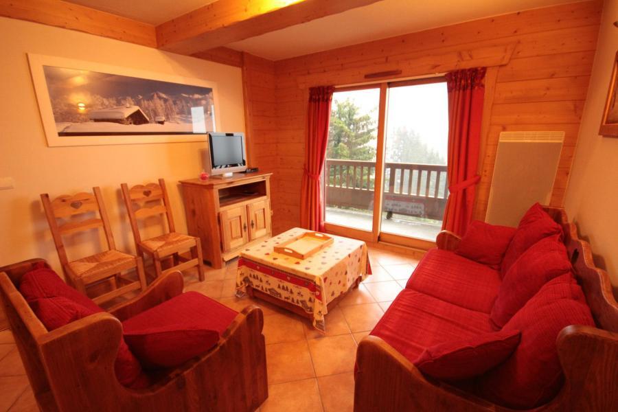 Vacaciones en montaña Apartamento 4 piezas para 8 personas (ALPI05) - Les Alpages de Bisanne I - Les Saisies - Estancia