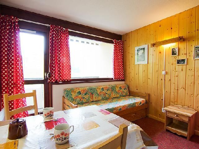 Holiday in mountain resort 1 room apartment 2 people (28) - Les Asters - Les Menuires - Accommodation