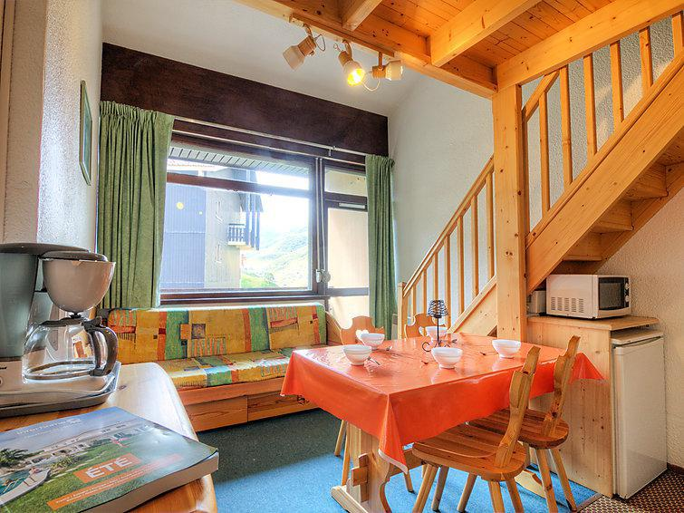 Holiday in mountain resort 2 room apartment 6 people (16) - Les Asters - Les Menuires - Summer outside
