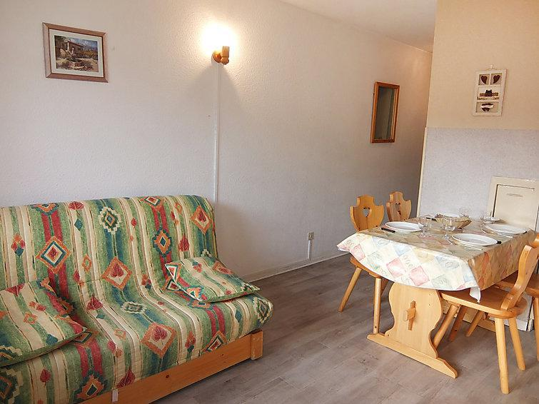 Holiday in mountain resort 1 room apartment 4 people (31) - Les Asters - Les Menuires - Summer outside