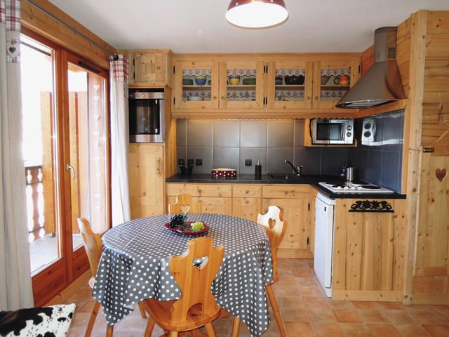 Vacances en montagne Appartement 3 pièces 4 personnes - Les Balcons de Châtel - Châtel - Table