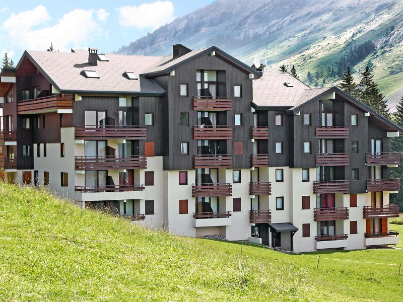 Holiday in mountain resort 2 room apartment 4 people (6) - Les Balcons de l'Etale - La Clusaz - Summer outside