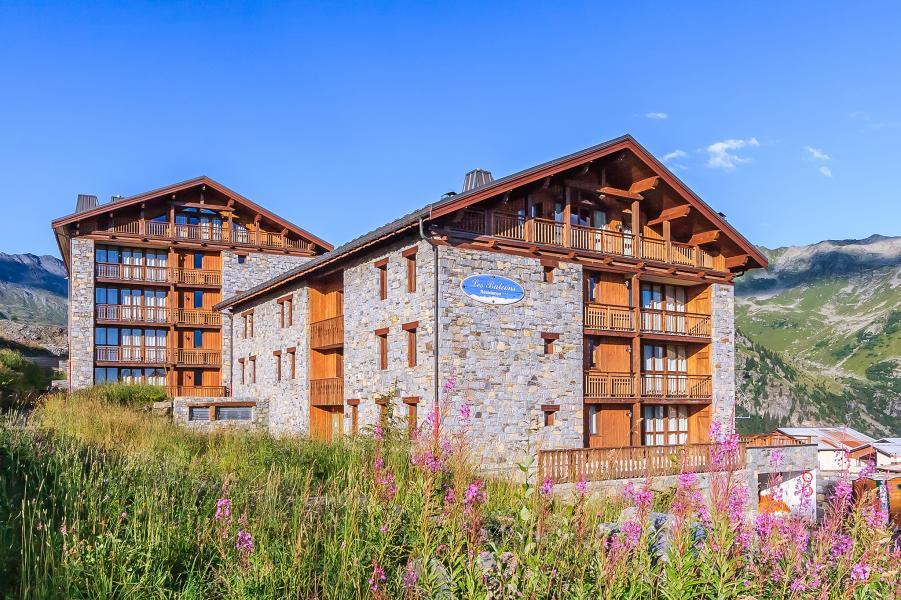 Location au ski Les Balcons de la Rosière - La Rosière - Extérieur été