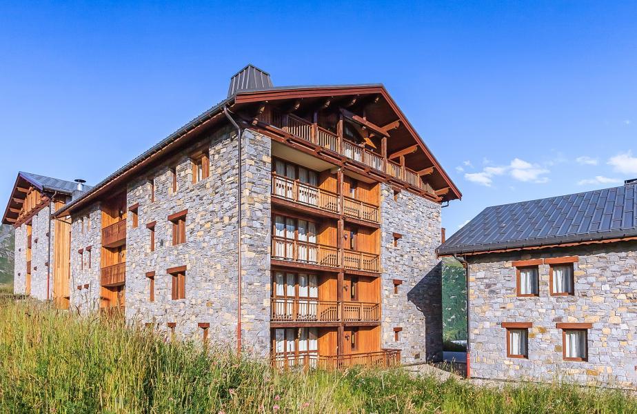 Alquiler al esquí Les Balcons de la Rosière - La Rosière - Verano