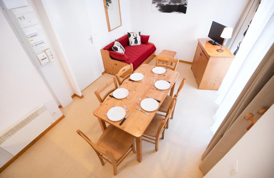 Holiday in mountain resort 2 room apartment 5 people (2P5+) - Les Balcons de la Vanoise - Termignon-la-Vanoise - Dining area
