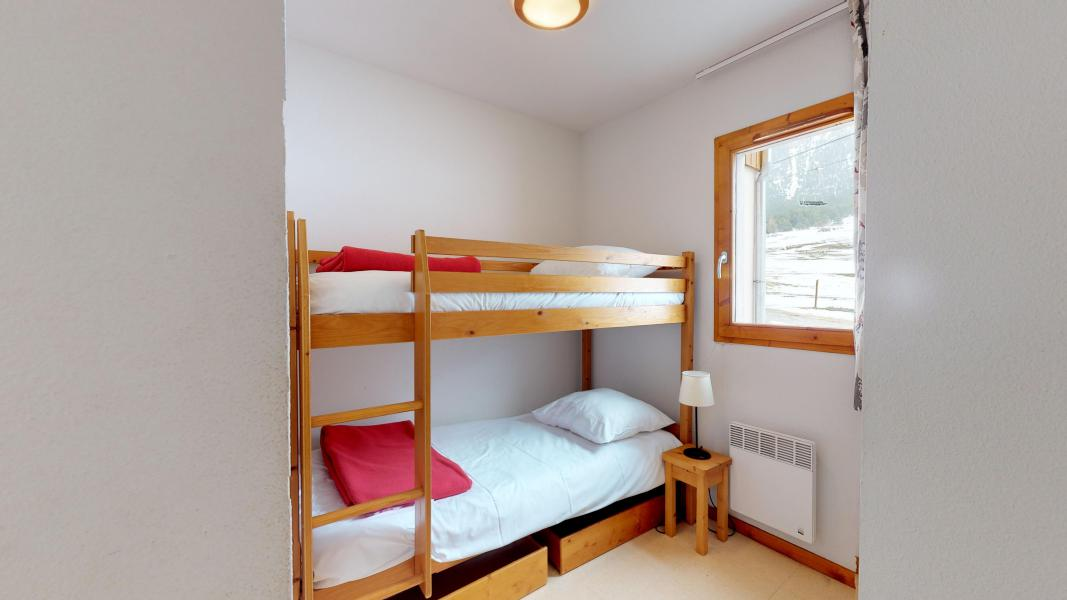 Holiday in mountain resort 2 room apartment cabin 6 people (2P6CC+) - Les Balcons de la Vanoise - Termignon-la-Vanoise - Bunk beds