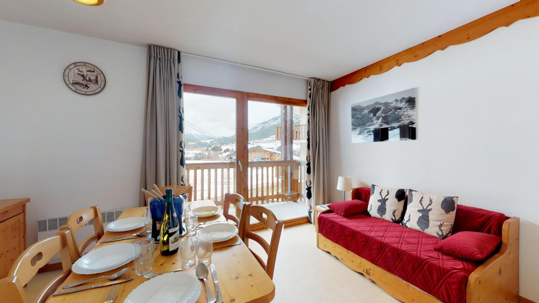 Holiday in mountain resort 2 room apartment cabin 6 people (2P6CC+) - Les Balcons de la Vanoise - Termignon-la-Vanoise - Living room