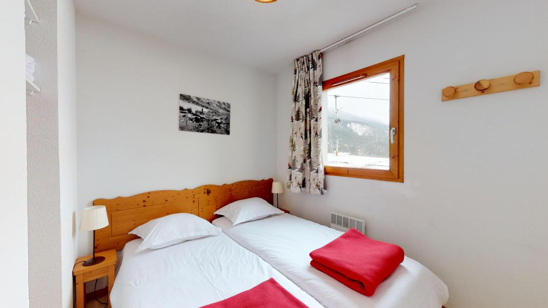Holiday in mountain resort 2 room apartment cabin 6 people (2P6CC+) - Les Balcons de la Vanoise - Termignon-la-Vanoise - Single bed