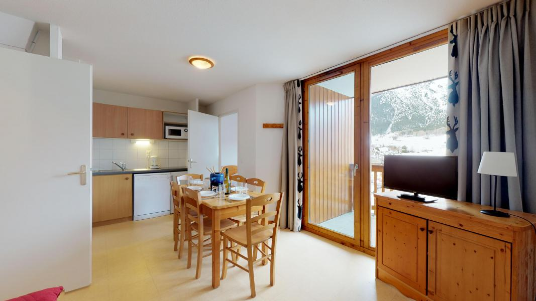 Holiday in mountain resort 2 room apartment sleeping corner 6 people (2P6CM+) - Les Balcons de la Vanoise - Termignon-la-Vanoise - Kitchenette