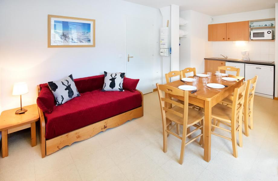 Holiday in mountain resort 2 room apartment sleeping corner 6 people (2P6CM+) - Les Balcons de la Vanoise - Termignon-la-Vanoise - Living room