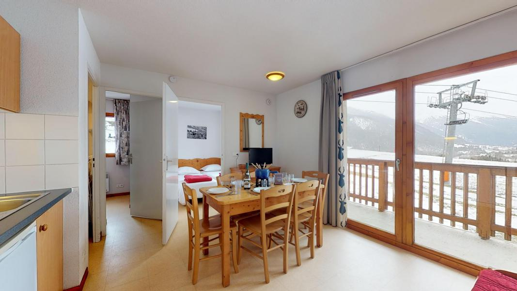 Holiday in mountain resort 2 room apartment cabin 6 people (2P6CC+) - Les Balcons de la Vanoise - Termignon-la-Vanoise