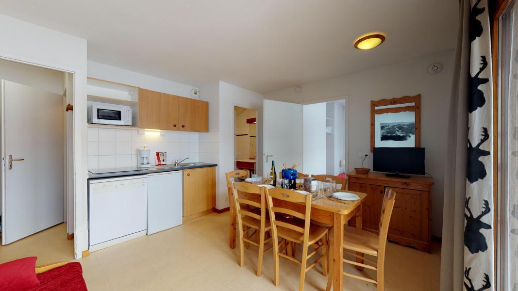 Vacances en montagne Appartement 2 pièces cabine 6 personnes (2P6CC+) - Les Balcons de la Vanoise - Termignon-la-Vanoise - Kitchenette