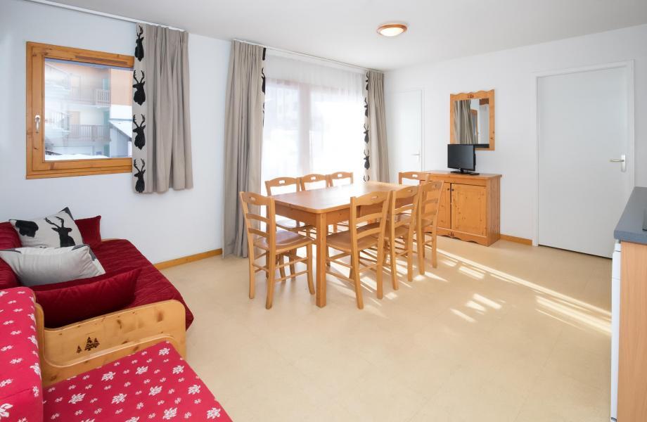 Vacances en montagne Appartement 4 pièces 8 personnes (Rénové) (4P8+) - Les Balcons de la Vanoise - Termignon-la-Vanoise - Séjour